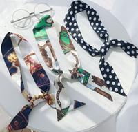 حقائب يد سكراف حزام مقبض أنثى وصول جديدة الأزياء الأصلي الطباعة محفظة محفظة الحرير النساء التقليد الكتف DIY ART USA KR حمل