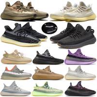 Yeni Asriel Eliada Cinder Çöl Yekeil Yeshaya Siyah Statik Abez Yansıtıcı V2 Spor Koşu Ayakkabıları Kuyruk Işık Erkek Kadın Sneakers