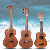 Наоми Сопрано / концерт / Тенор Сапеэль Укулеле Гавайи Гитара Акустическая вырезная гитара W / GIG Bag