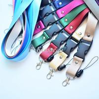 أعلى جودة لون الصلبة نايلون ثخن اسهم العالمي الهواتف المحمولة الحبل الأشرطة الملابس سلسلة المفاتيح الحبل بطاقات الهوية الحبل حامل