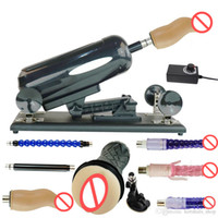 Automatic Adjustable Speed Sex Machine Gun with Big Dildo lo...