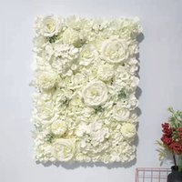 60x40cm Artificial Flower Wall Decoration Road Lead Hydrange...