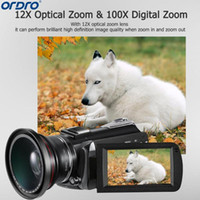 Ordro AC5 4K UHD Digital Video Cameras Camcorders Zoom 12X F...