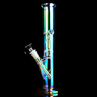 Tall Bong Bong Color Water Bongs Bongs Narghilè Downstem Perc Brovaggio Ash Catcher Pettine DABBER INFERIORE RIG RECYCLER DAB Smoke Acqua Tubo con 14mm