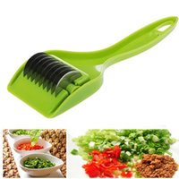 الإبداعية الخضار التوابل القاطع البصل الأخضر المروحية البصل الأخضر الثوم عشب القاطع تقطيع سكين أدوات المطبخ