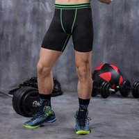 Running Tight Short Pant Male Fitness Breathable Absorb Swea...
