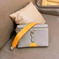2021 MS kaliteli eğimli hakiki kadın messenger paketi kadın tek çantalar çanta gümüş lazer omuz çanta yüksek moda deri bu ofhj