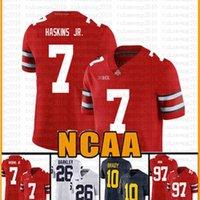 NCAA Ohio State Buckeyes 97 Nick Bosa 7 Dwayne Haskins Jr American Football Jersey 13 Tua Tagovailoa Tom Brady Saquon Barkley CESSRY