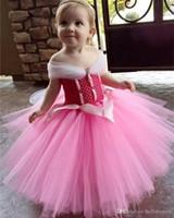 Camo Pink Tulle Little Niña pequeño Pago PRIMER COMUNIÓN BAJA PRIMER CUMPLEAÑOS VESTES 2019 Vestido de bola Vestidos de niña con cuentas