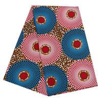 2019 의류 원단 앙카라 아프리카 폴리 에스테르 왁스 인쇄 패브릭 Binta 리얼 왁스 높은 품질 6야드 파티 드레스 PL536를위한 아프리카 직물