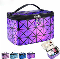 Designer Beautician Necessaire Large Cosmetic Bag Cases Design Beauty Vanity Makeup Box Bag Travel Toiletry Wash Pouch for Women