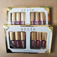 6 colores Stilla Ojo para la elegancia Maquillaje Edición Limitada Eyeshadow Liquid Set Cosmetics Tierra Color Eyeshadow Makeup Set