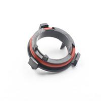 HID Xenon Araç Farlar Tutucu Cli için 4 x H7 LED Başkanı Işık Dönüşüm Ampul Bankası Adaptör Tutucu Klipler