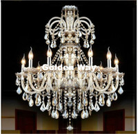 Free Shipping Cognac Color Chandelier Crystal Pendant Chande...