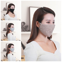 Hommes Femmes Glitter Masque inhalables Earloop Masques bouche unisexe respiration respirateurs gros Eco Friendly 6 5HY H1