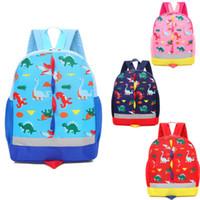 حقائب 1PCS طفل أطفال الأطفال تخزين الحقيبة بنين فتاة الكرتون حقيبة الظهر المدرسية الطفل حقائب الكتف الحاويات منظم