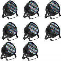 Wasserdichte im Freien RGBW LED Par Lichter IP65 DMX512 Profeesioal Bühne Disco DJ Equipment 54x3w New Sale