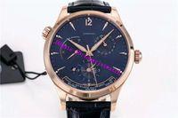 탑 마스터리적 1422521 남성용 시계 GMT 날짜 파워리저브 로즈 골드 손목 시계 스위스 939/1A 자동 기계적인 28800VPH 사파이어