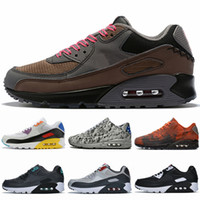 2019 Hombres Mujeres 90 Zapatillas para correr 90s Designer black white Classic 90s Be True Rainbow Multicolor Betrue Sports Sneakers des chaussures