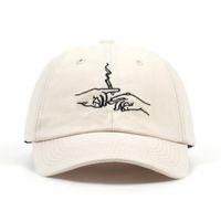 VORON vendita calda fumo ricamo berretto da baseball unisex moda papà cappelli da donna sport hars uomini all'aperto berretti casual per il viaggio