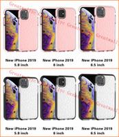 Pour 2019 NOUVEAU Iphone 11 XR XS MAX X Cas Doux Silicone Couverture Antichoc Protecteur Cristal Bling Glitter Caoutchouc TPU Cas Clair