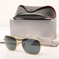 10PCS 100 % UV 보호 Mens sun glasses 3136 Womens 색안경 패션 안경 유리 렌즈 브랜드 Sun glasses with cases and boxs