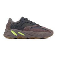 2019Wave 주자 카니 예 웨스트는 700 개 블랙 그레이 아날로그 소금 디자이너 신발 정적 오드 Vanta를 스포츠 운동화 박스없이 신발 화이트 자주 빛을 실행