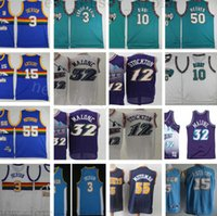 Cheap Wholesale Retro Stitched Jersey Man Top Quality Mens W...
