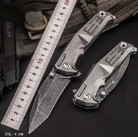 Classic Chinese to E3 Folding Knife 9cr18mov Blade Titanium ...