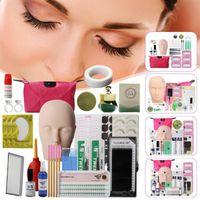 5Type Ложные Ресницы Extension Kit Обучение Упражнение Practice головка манекена Набор Прививка Ресницы Tools Kit Eye Lashes прививкой