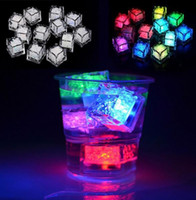 in stock led ice cubes 7 color changing night Light up LED G...