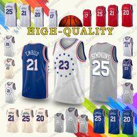 4832acaf3 Philadelphia Ben 25 Simmons Jerseys 76ers Jimmy Butler Joel Embiid Jersey  18 19 new Earned Edition Cheap sales t shirt