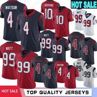 4 Deshaun Watson Men Jersey 99 J. J. Watt 10 DeAndre Hopkins ...