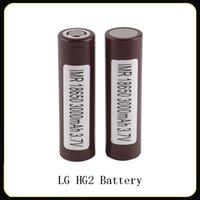 LG HG2 18650 3000mAh 35A Max descarga de alta exaurir as baterias 25R Sony VTC5 VTC4 HE2 HE4 Fedex frete grátis