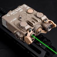 نيو الصيد البصر بالليزر الادسنس DBAL-A2 البسيطة البندقية التكتيكية PEQ الأخضر ليزر الأشعة تحت الحمراء بقيادة الضوء الأبيض المنور صندوق البطارية