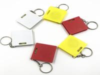 Taşınabilir Mini Teyp Tedbir Seviye Küçük Mezro Bir Metre Anahtarlık Mezro