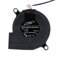 الجملة الأصلي adda AB06012MX250300 60x60x25 ملليمتر 12 فولت 0.18A العارض مروحة التبريد منفاخ توربو مروحة