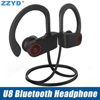 Hot Bluetooth Headset V4. 1 Ear Hook Headphone Earbuds B Wire...