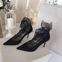 The new mesh stilettos are comfortable to walk on Bud silk P...