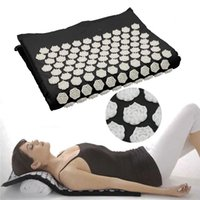 Fitness Yoga Spike Mat Lotus Cotton Acupuncture Massage Mat ...