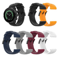 24mm 실리콘 스트랩 순토 (9) 스마트 시계 통기성 능 직물 밴드 순토 스파르탄 스포츠 손목 시간 엔 바로 손목 시계