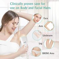 새로운 홈 사용 미니 IPL 레이저 머리 제거 기계 휴대용 제모기 플래시 램프 HR 머리 제거 SR 피부 rejunvenation