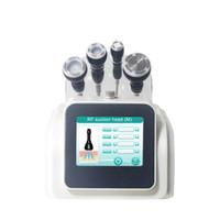بالموجات فوق الصوتية التجويف آلة RF المحمولة استخدام المنزلي التخسيس 40KHZ لتشكيل الجسم الدهون إزالة لتخفيف الوزن آلة التخسيس
