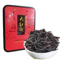 104g promoção Alto grau Dahongpao chá Oolong chinês Orgânica Chá Preto avançado caixa chinesa Natural dieta embalagem do presente alimento verde