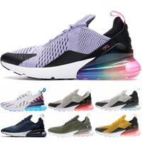 Be True 270 Mens Running Shoes White Red Teal Tiger Designer...