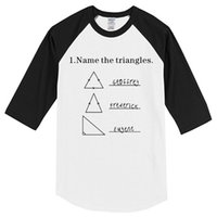 T- shirt New 2019 Summer Name The Triangles Men' s T- shir...