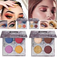 Pudaier Eye Makeup 4 Colors Matte Nude Eye shadow Palette La...