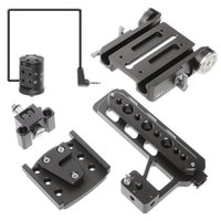 JTZ DP30 15mm Stand Base Plate Clamp and JTZlink Hub Adapter...