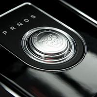 Für Jaguar XF XE XJ XJL F-Pace F Pace Auto Styling ABS Chrome Auto Gang Umschaltknopf Abdeckung Dekoration Trim Aufkleber Neu