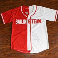 Lil boot - lil yachty # 44 Segelmannschaft Baseball Jersey Herren genäht Jerseys Hemden Größe S-XXXL Kostenloser Versand